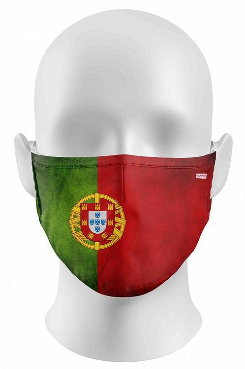 Masque barrière Drapeau Portugal