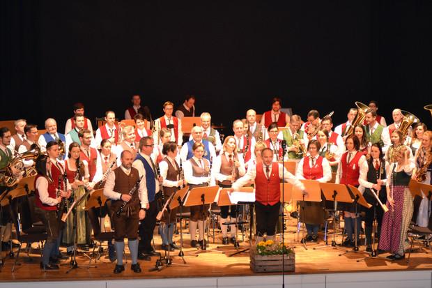 Konzert des Bezirksorchesters