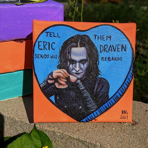 "Horror Conversation Heart ""Eric Draven"""