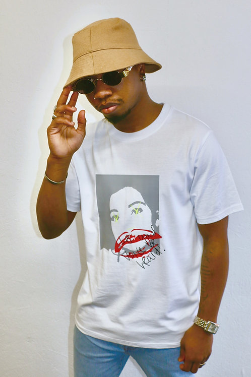 Let Your Voice Be Heard White Tee