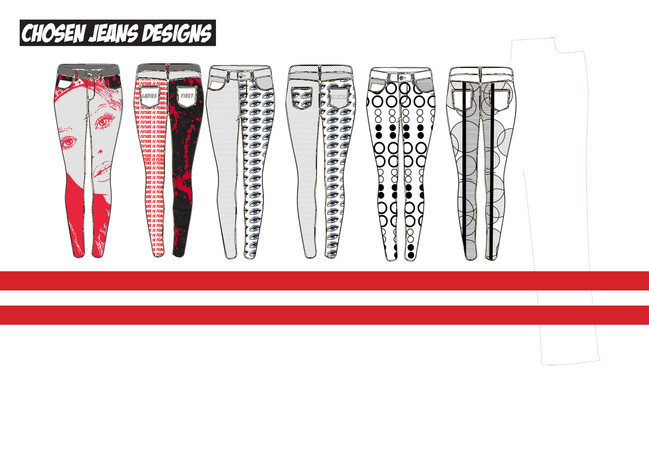 Jeans design page