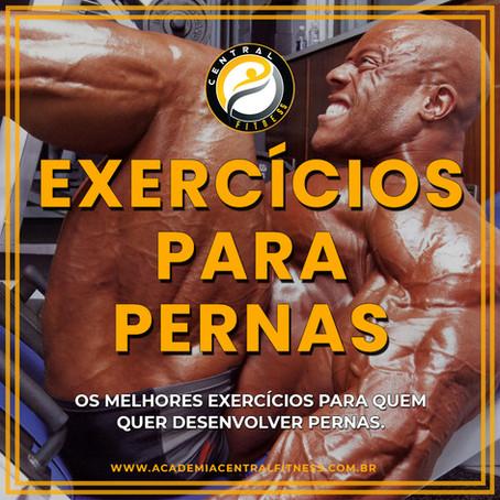 OS MELHORES EXERCÍCIOS PARA PERNAS