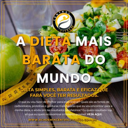 A DIETA MAIS BARATA DO MUNDO