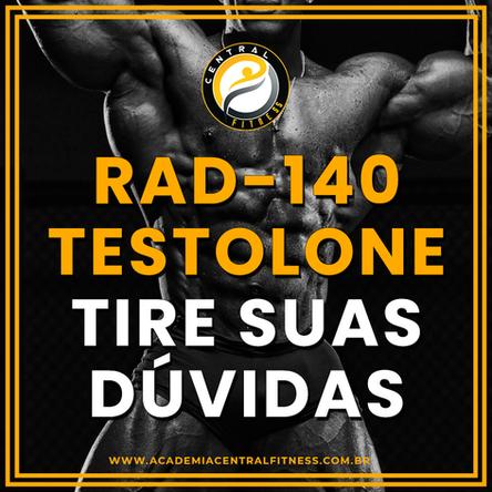 TESTOLONE (RAD-140) TIRE TODAS AS SUAS DÚVIDAS