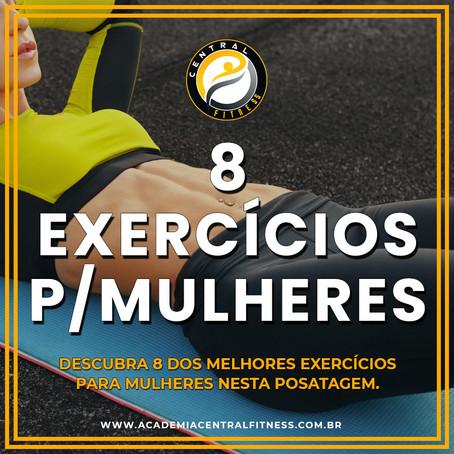 8 melhores exercícios para fazer em casa para mulheres