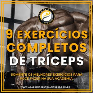 9 EXERCÍCIOS PARA TRÍCEPS SOMENTE OS MELHORES