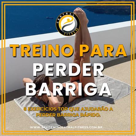 TREINO PARA PERDER BARRIGA