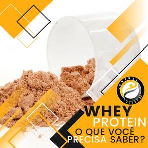 Tudo o que você precisa saber sobre whey protein