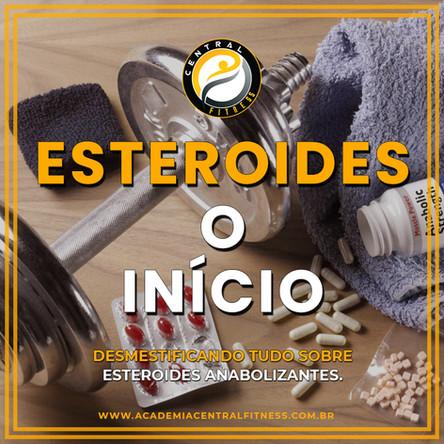 CICLO DE ESTEROIDES ANABOLIZANTES [O INÍCIO]