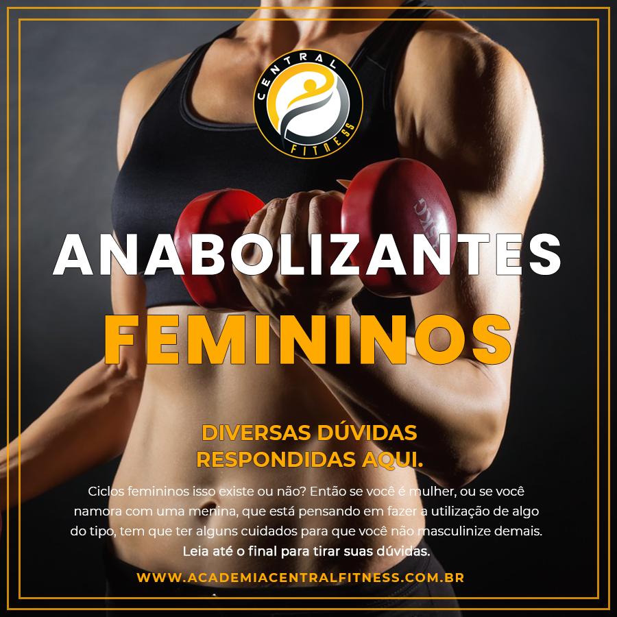 CICLO DE ANABOLIZANTES FEMININOS