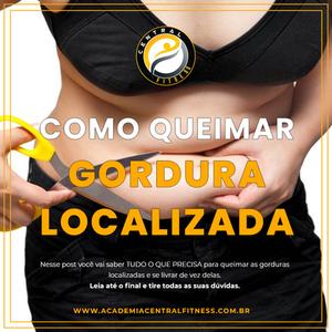 COMO QUEIMAR GORDURA LOCALIZADA