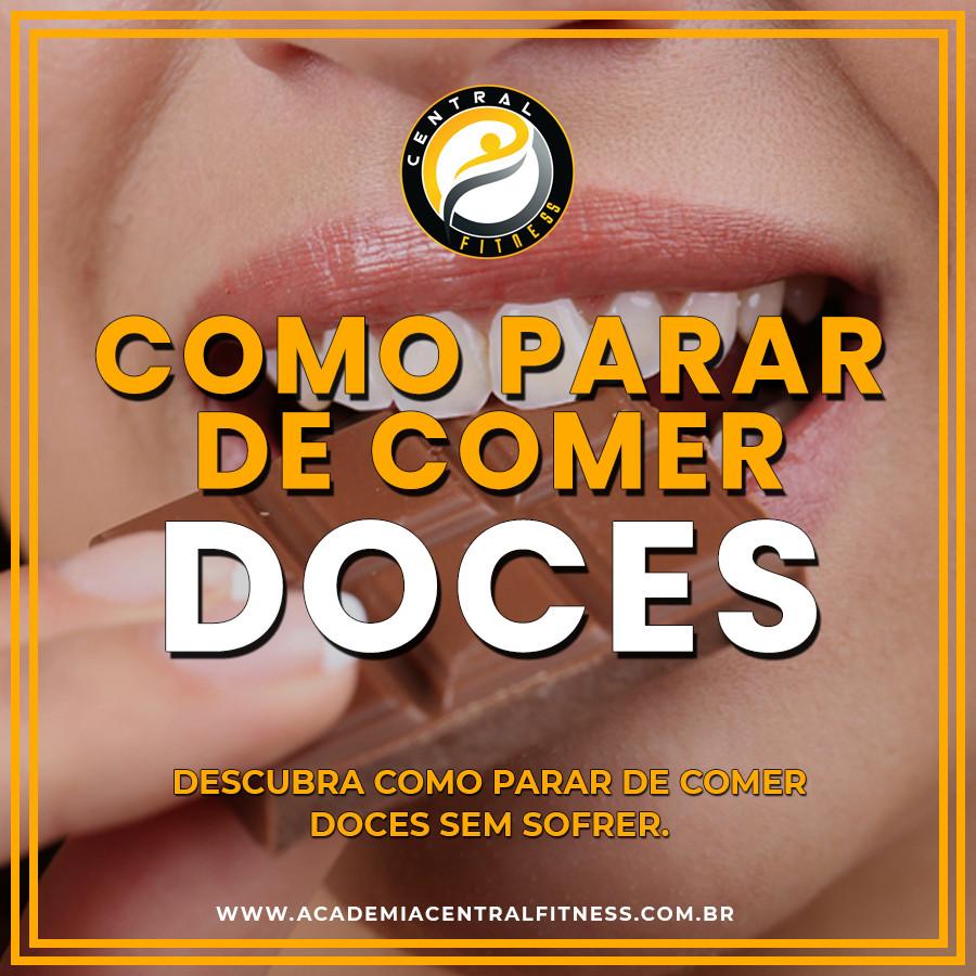 COMO PARAR DE COMER DOCES?