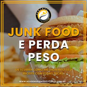 COMER JUNK FOOD E PERDER PESO
