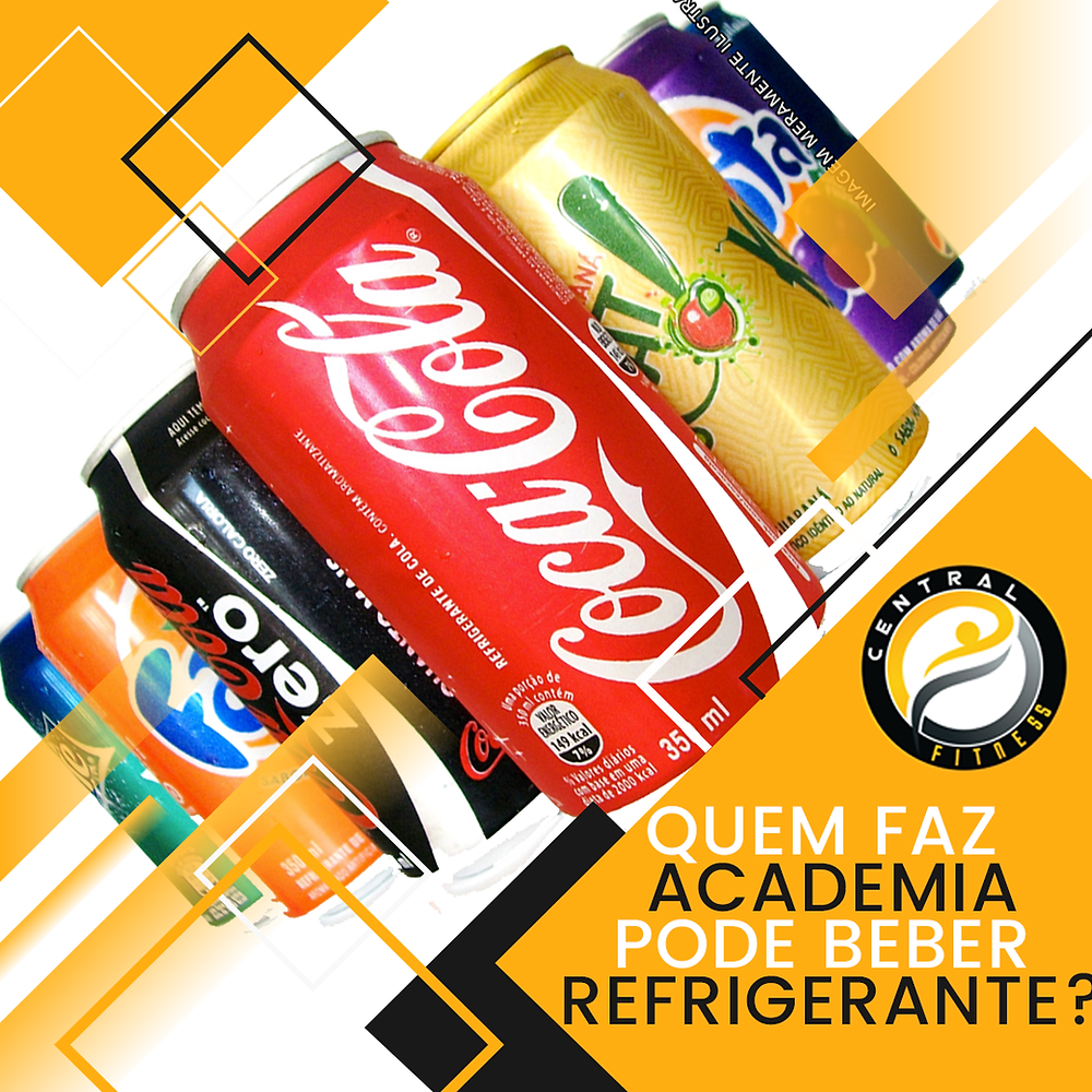 quem faz academia pode beber refrigerante?