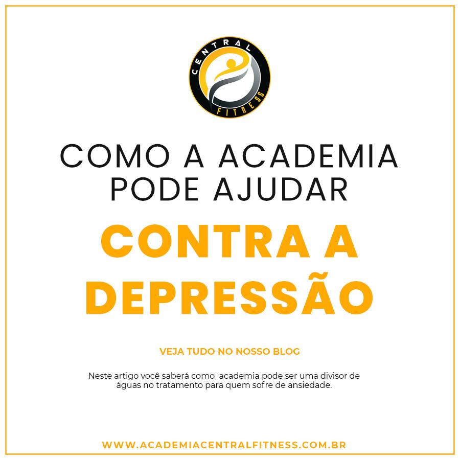 academia pode evitar a depressão e ansiedade