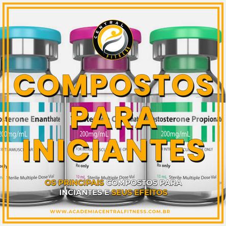 Quais compostos esteroides devo usar no meu ciclo de iniciante?