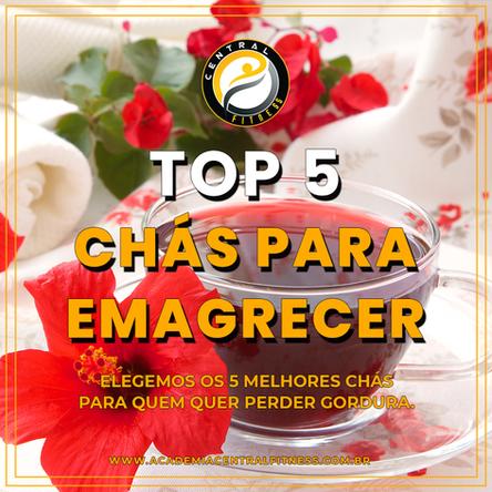 5 RECEITAS DE CHÁS QUE VÃO AJUDAR A EMAGRECER E PERDER BARRIGA