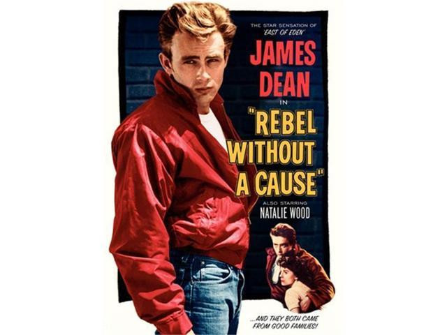 rebel without a cause; james dean