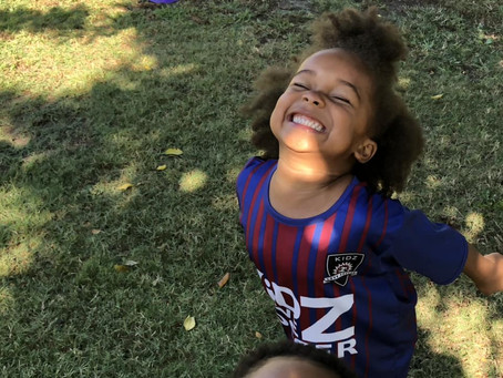My Toddler's First Soccer Experience