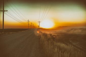 Idaho Sunset and smoke.jpg