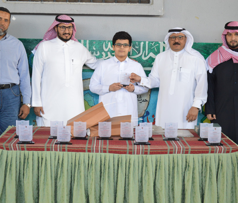 تكريم الطلاب الفائزين في مسابقة القرآن