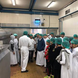 زيارة مصنع الأيسكريم