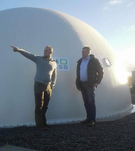Besøk av landbruksminister Jon Georg Dale