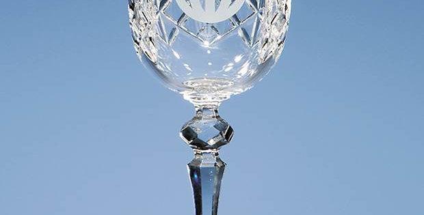 CG HM63 220ml Flamenco Crystalite Panel Goblet