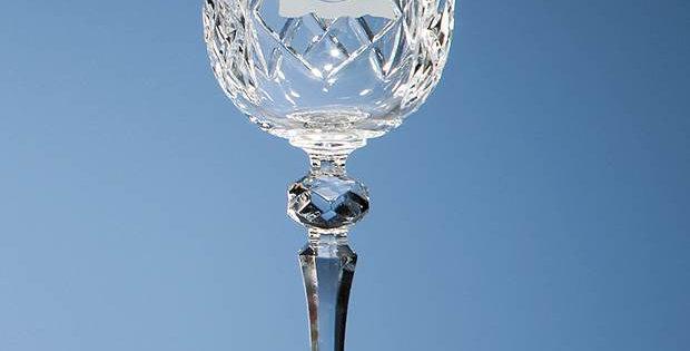 CG HM94 170ml Flamenco Crystalite Panel Wine Glass