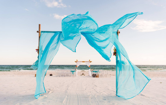 Navarre Beach Wedding Ceremony
