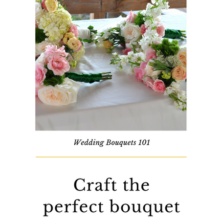Craft the Perfect Bouquet
