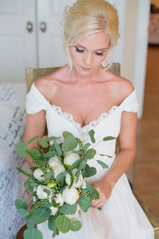 Floral Bouquet With Greenery