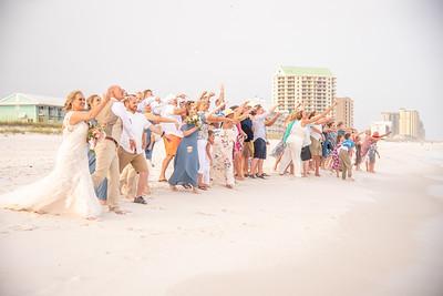 Shell Blessing on Navarre Beach