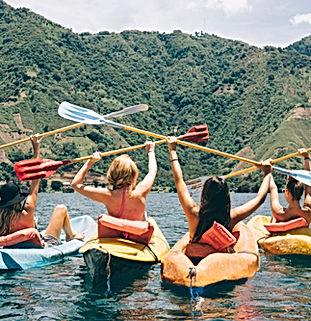 kayak Cascada de Ezaro