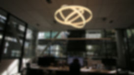 architectural lighting in architects office