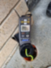 electrical testing of ground resistance