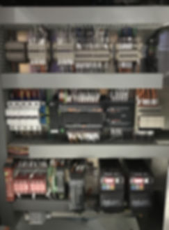 industrial process control with VSDs and PLC