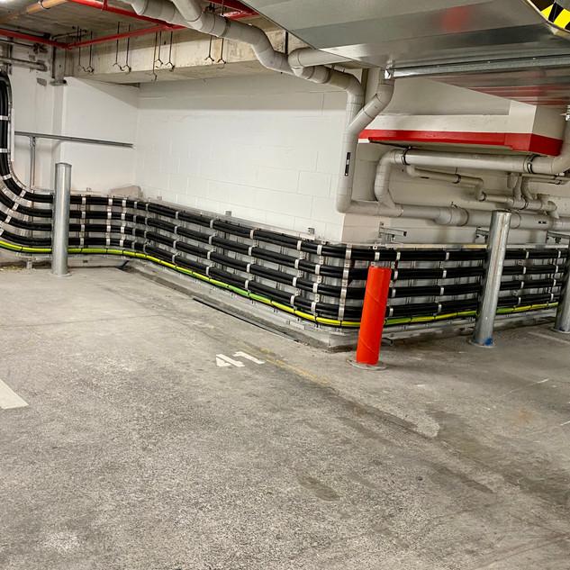 Generator cable reticulation
