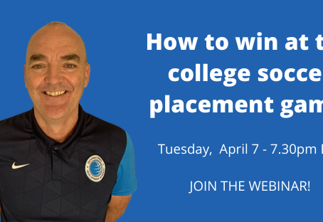How to win the college soccer placement game
