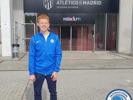 Rising IDA Star Trains With Club Atlético de Madrid