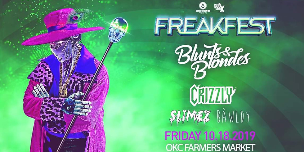 FreakFest ft. Blunts & Blondes, Crizzly, and more
