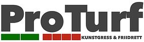 Ny logo ProTurf - Tykk font - farge #424