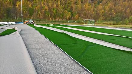 Rehabilitering av Lambertseter stadion