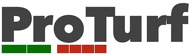 Utkast ny logo ProTurf - Tykk font - far