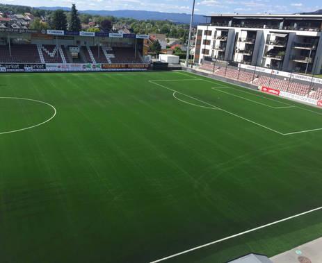 Isachsen Stadion, Mjøndalen