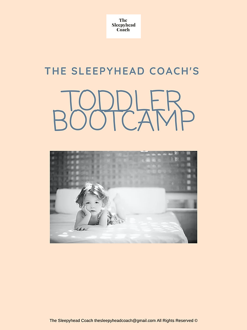 The Sleepyhead Coach's Toddler Sleep Bootcamp Guide