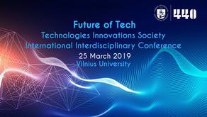"""Tarptautinė konferencija """"Future of Tech"""""""