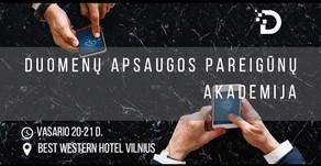 Vienuoliktoji Duomenų apsaugos pareigūnų akademija - vasario 20-21 d.