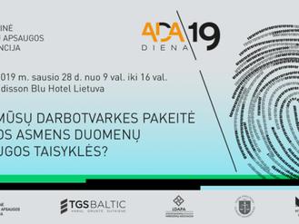 Dataprotection.lt - tarptautinėje VDAI konferencijoje sausio 28 d.