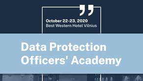 Dvyliktoji Duomenų apsaugos pareigūnų akademija spalio 22-23 d.